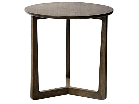 Baha Round Side Table Greydust