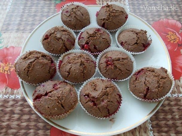 Špaldové muffiny s ríbezľami a chia
