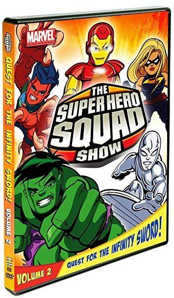 Tom Kenny & Steve Blum & Michael Gerard-The Super Hero Squad Show: Quest For The Infinity Sword Vol. 2