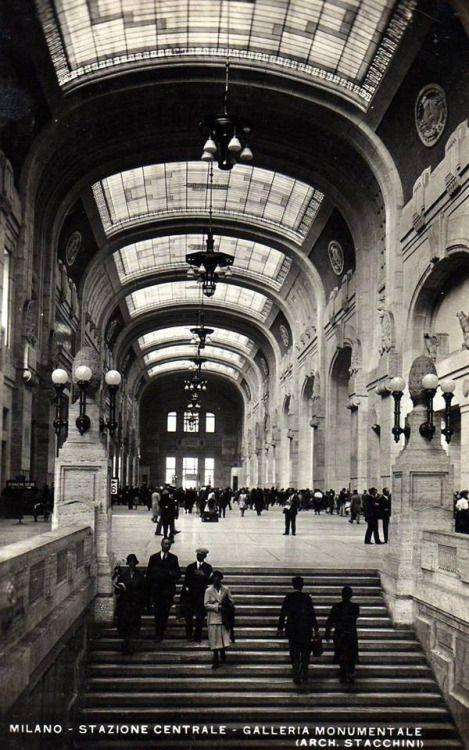 Milano: Stazione Centrale 1930