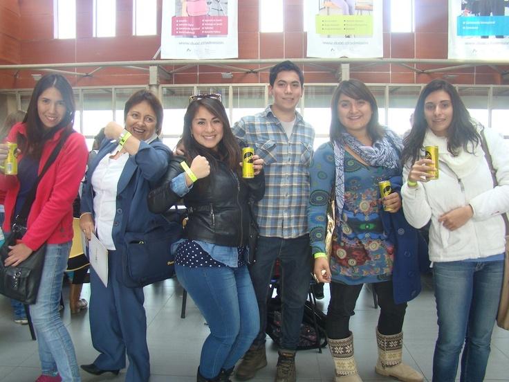 Alumnos Publicidad y nuestra simpática Secretaria Patricia Cáceres (la Patita)