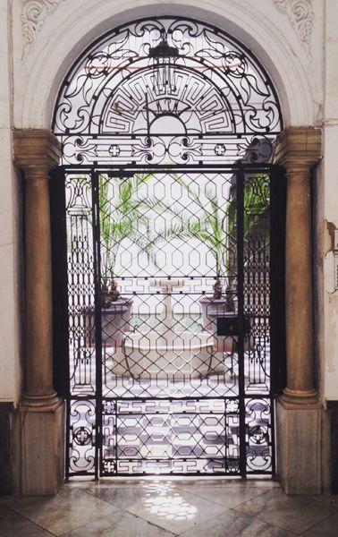 One of many beautiful patios of Cádiz