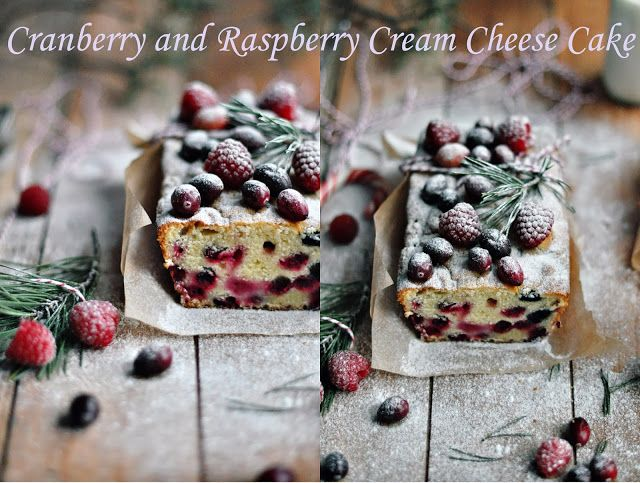 Food pour vous: Cranberry and Raspberry Cream Cheese Cake