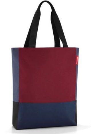 Reisenthel Shopping patchworkbag dark ruby