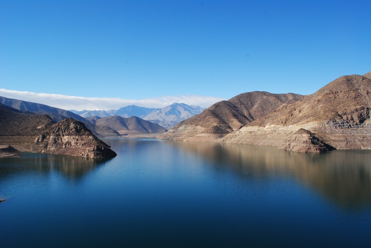 #Pisco Elqui Valley Chile - Beeeaautiful blue waters!