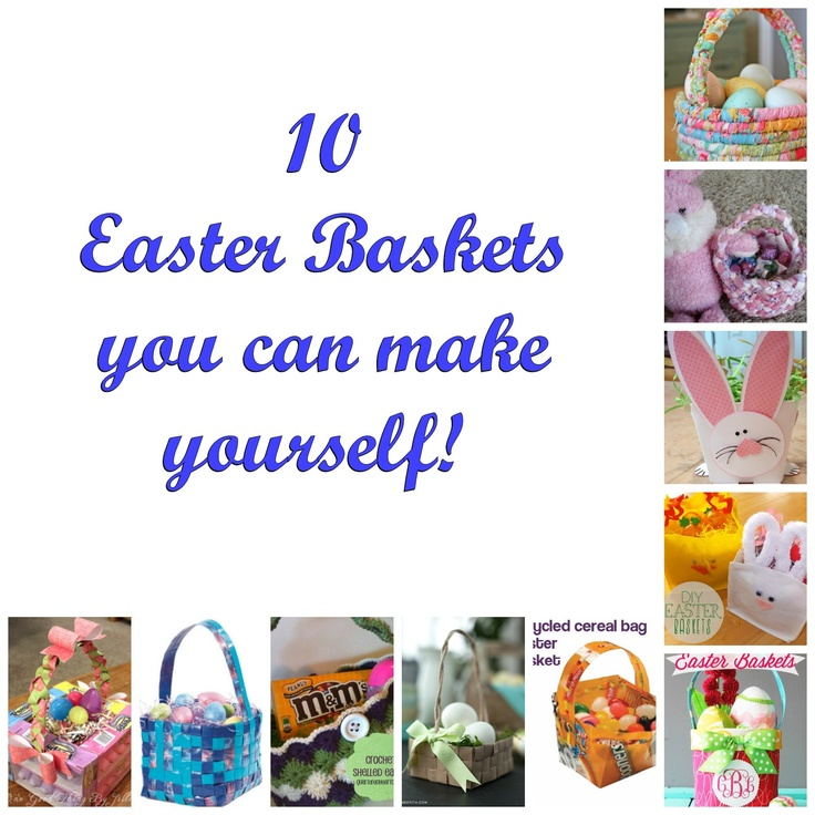 11 best holidays easter images on pinterest easter crafts diy easter baskets solutioingenieria Images