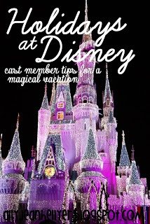 Winter Disney Tips - I would love to see Disney World over the holidays! Talk about magical! It would push it to miraculous if we could go and escape the long winters of the Midwest!