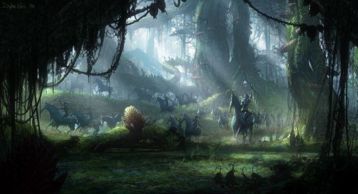 Ayfa'li a tsammì. Direhorses in war. | Avatar Concept Art ...