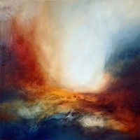 """Abstract Painting """"After Night"""" by Paul Bennett (Paul Bennett)"""