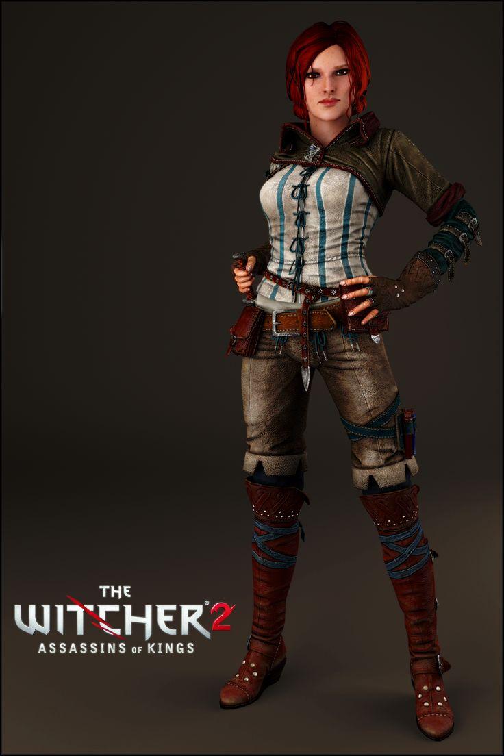 Triss Merigold - The Witcher 2 AoK by IshikaHiruma