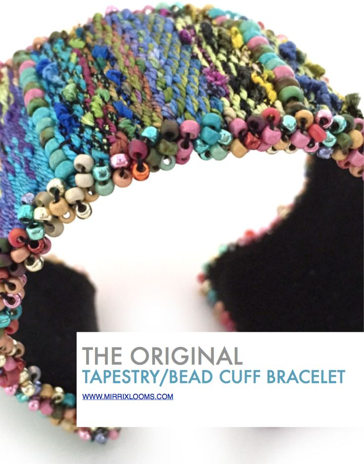 New ebook for tapestry/bead cuff bracelet project.