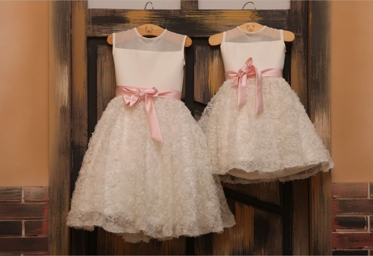 This IS zoes flower girl dress and she can do any colour sash!