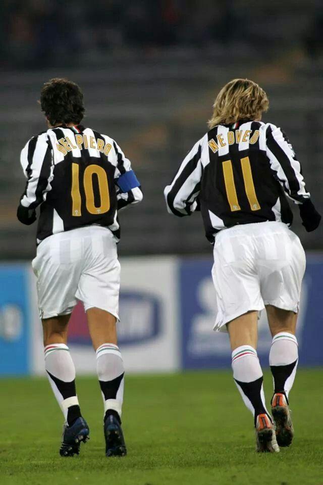 Del Piero e Pavel Nedved