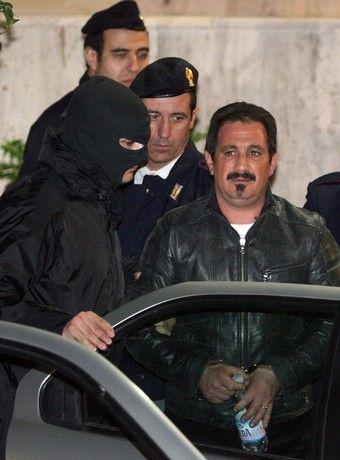 Andrea Adamo (25.12.1962)  Reggente de la famille de Brancaccio 2005-07   wanted since 2001, arrested on November 5, 2007.