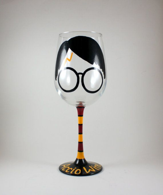Harry Potter vin verre l                                                                                                                                                      Plus