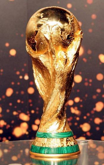 FIFA World Cup Trophy i want to win this some day