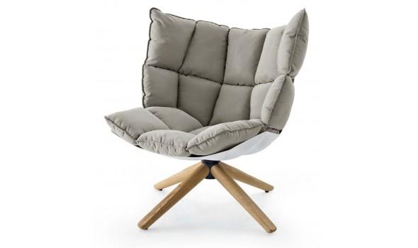 B Italia design fauteuil Husk   Van der Donk interieur