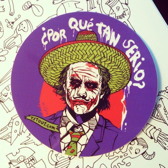 Los Joker: new sticker from @stickerapp