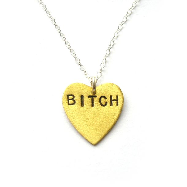 Bitch Necklace