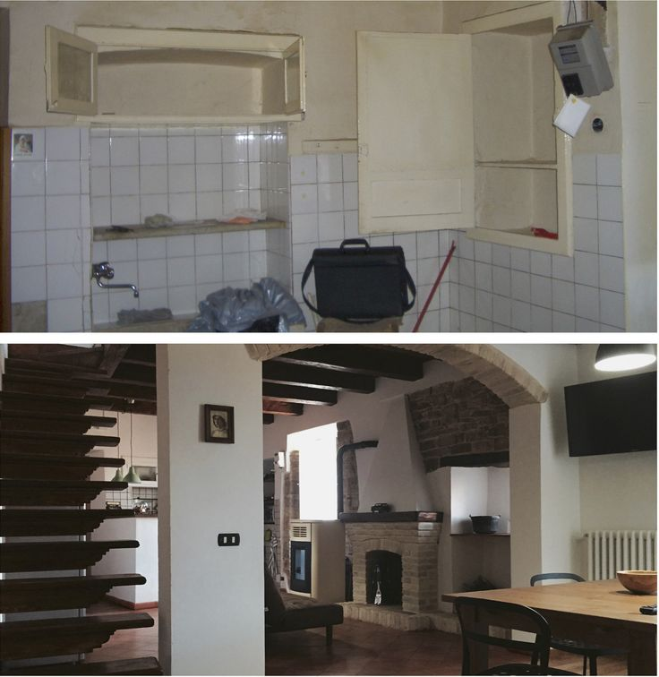 Private House renovation. After and before works