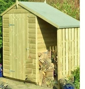 4 x 3 shiplap shed with store, new For Sale in Tarporley, Cheshire | Preloved