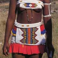 Zulu beaded belts