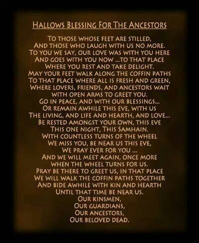 pagan blessings | Via Lydia Moonlight