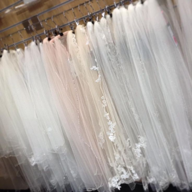 Just a snapshot of our lovely veils- White, Ivory, Champagne and blush options available