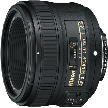 Nikon AF-S NIKKOR 50mm f/1.8G Fixed Focal Length Lens - Walmart.com