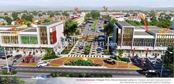 Gerbang cluster Villaggio Citra Raya Tangerang.