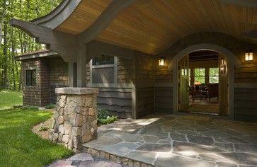 Jim Nancekivell - rustic - Entry - Minneapolis - nancekivell home planning & design