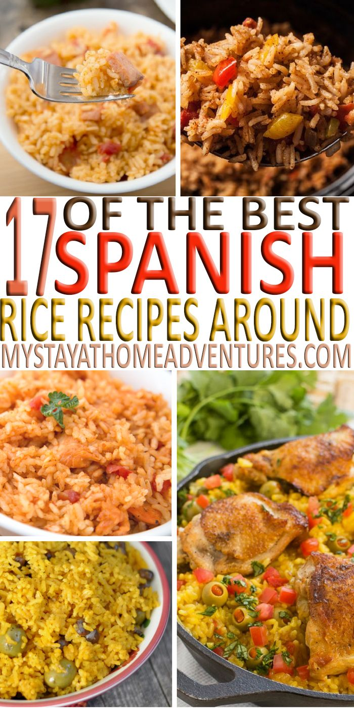 Looking for a delicious Spanish rice recipe? We have the best Spanish rice recipes from around the web from caldero to Instant Post you will find them here.