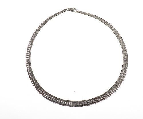 Adara Silver 17 Inches Chunky Necklet 8qsKDbRT6