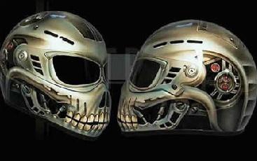 Cascos de motos inusuales - Taringa!