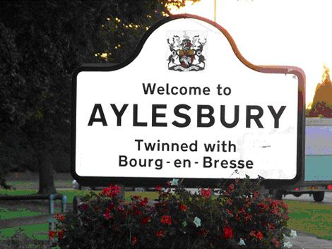 Aylesbury, England - where my dad was born