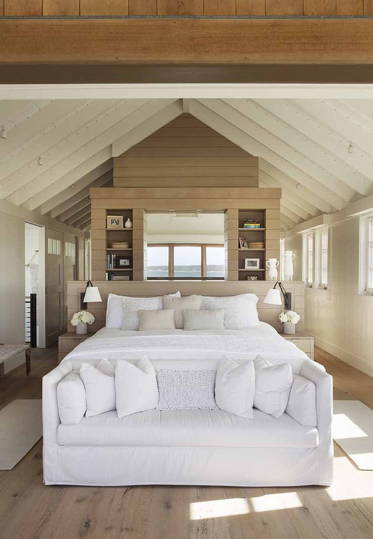 Gorgeous beach house in Martha's Vineyard with barn-like details