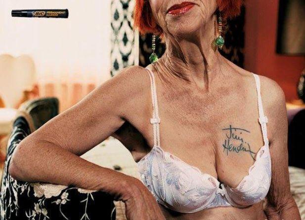 Jimi Handrix tatoo with BIC