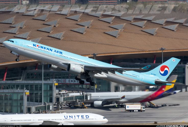 Airbus A330-323 - Korean Air | Aviation Photo #4132901 | Airliners.net