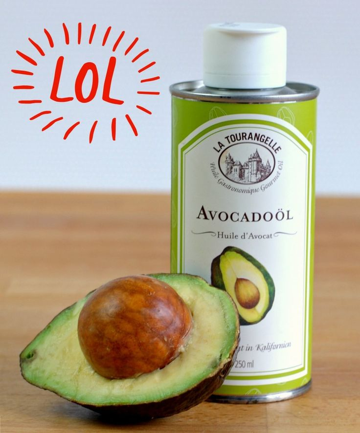 Avocadoöl-Haare