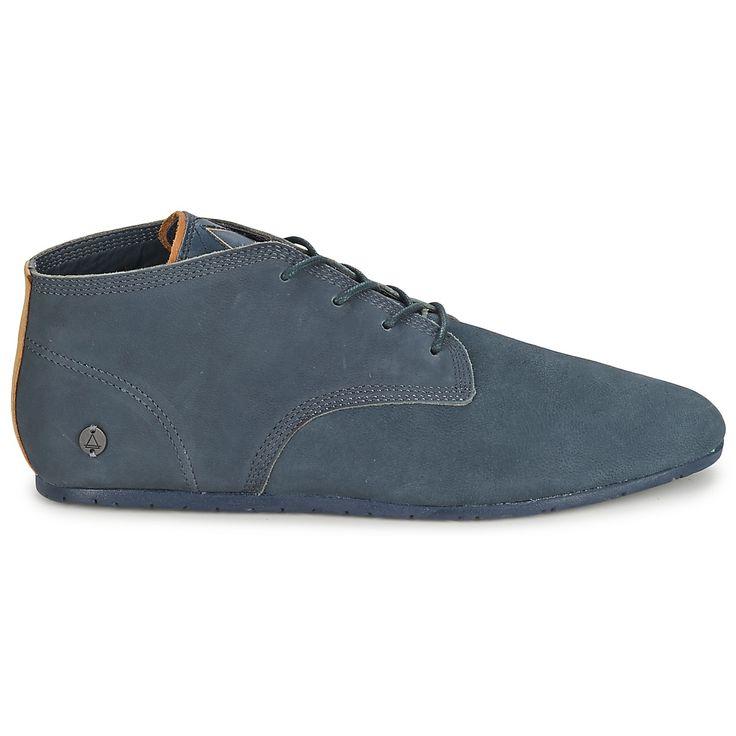 Boots Eleven Paris BASIC COLORS Cuir Marine - achat de chaussures en ligne, boutique chaussure pas cher sur Shoes.fr ! - Chaussures 109,00 €