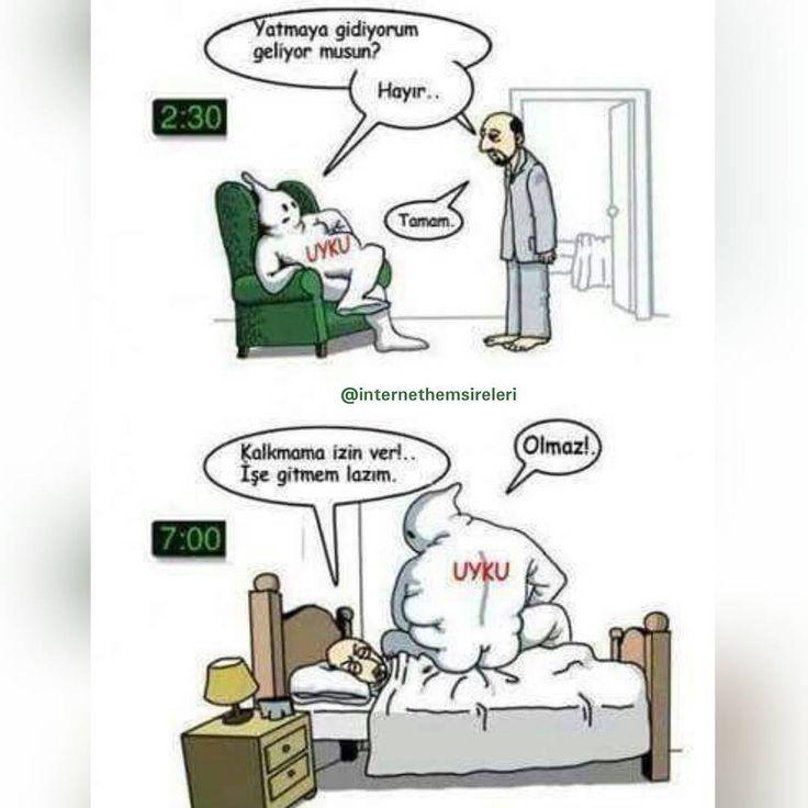 """""""Tamda böyle☝  #sizde #durumlar #nasil #iyigeceler #goodnight #internethemsireleri #internetnurse #karikatür"""""""