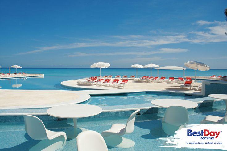 Bel Air Collection Resort and Spa Cancún con servicio All Gourmet (Todo Incluido a la carta), es una propiedad frente al Mar Caribe en la Zona Hotelera de #Cancun. Destaca por su ambiente relajado e íntimo, ideal para parejas, por su completo spa y oferta gastronómica. Este es un hotel para huéspedes mayores de 12 años de edad. #BestDay #OjalaEstuvierasAqui