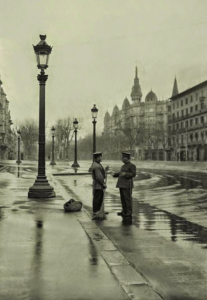 1920. Passeig de Gracia, Barcelona