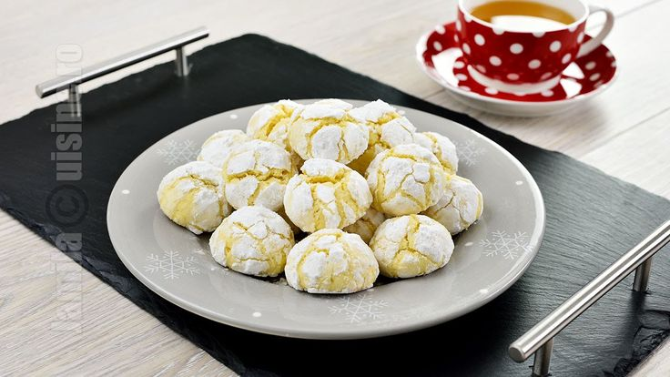 Lemon Cookies Recipe | JamilaCuisine