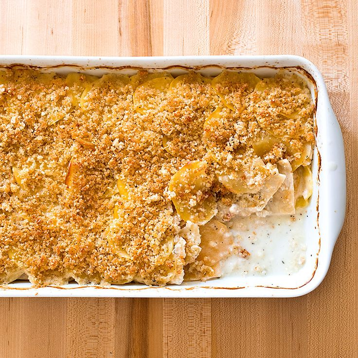 Earthy potatoes, sweet rutabagas, and savory celery root join forces in our Root Vegetable Gratin. White wine ensures tender vegetables and bright flavor.