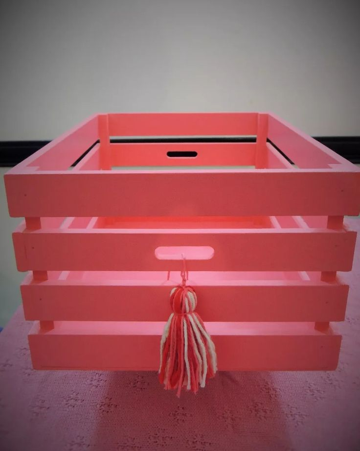 cajón verdulero fibrofacil pintado/decoupage