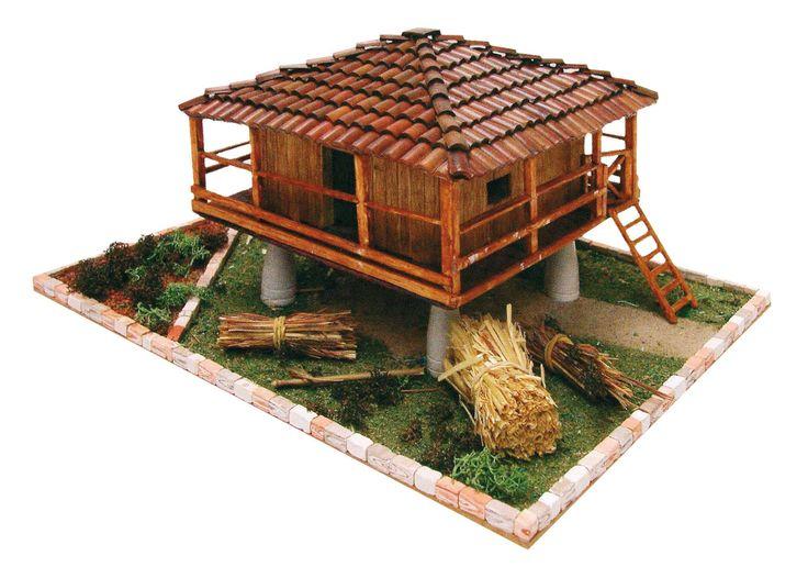 kit 3632 Cuit - Kit maqueta hórreo asturiano, IndalChess.com Tienda de juguetes online y juegos de jardin
