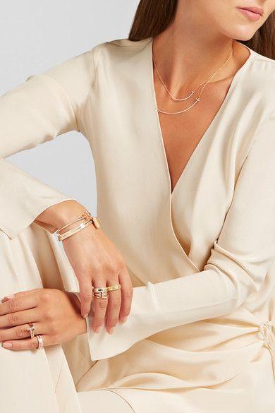 Tiffany & Co | 18-karat gold diamond ring | NET-A-PORTER.COM