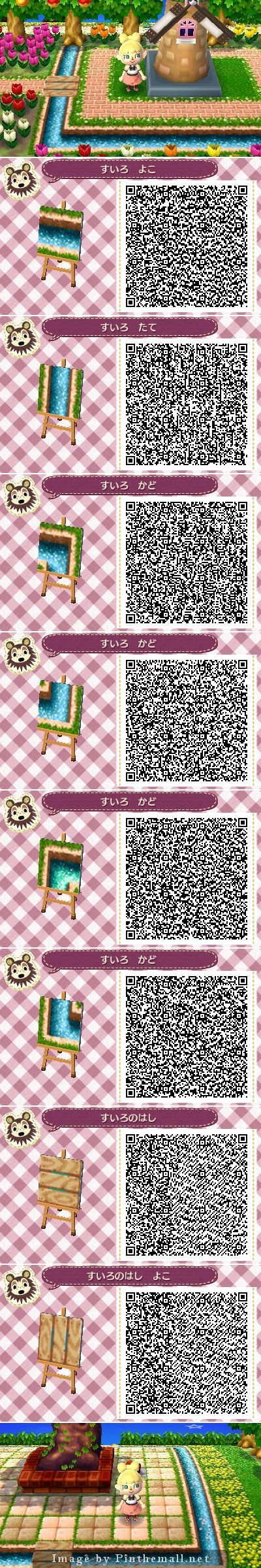 river water qr code animal crossing pinterest
