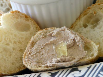 Chicken Liver Pate- Jacques Pepin recipe. Fave!